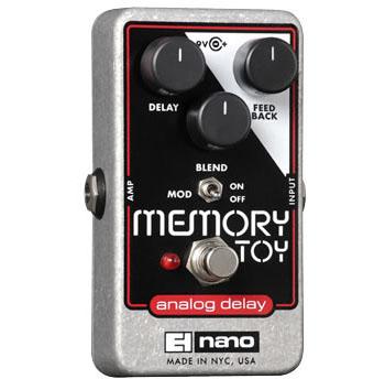Electro-Harmonix Memory Toy Analog Delay With Modulation《エフェクター/ディレイ/モジュレーション》【送料無料】【ONLINE STORE】