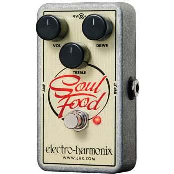 Electro Harmonix Soul Food 《エフェクター/オーバードライブ/ディストーション》 【送料無料】【ONLINE STORE】