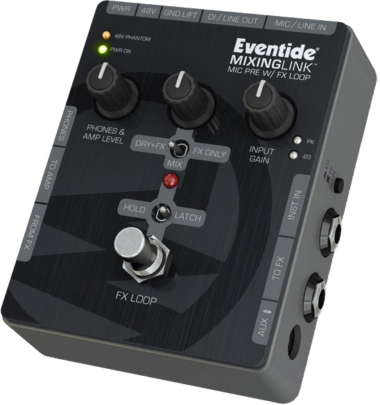 Eventide MIXING LINK《マイクプリアンプ》【送料無料】【ONLINE STORE】