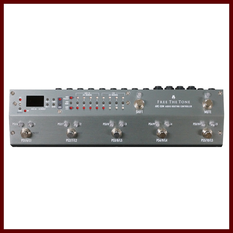 Free The Tone ARC-53M AUDIO ROUTING CONTROLLER (Silver) 《スイッチャー》【送料無料】【ONLINE STORE】