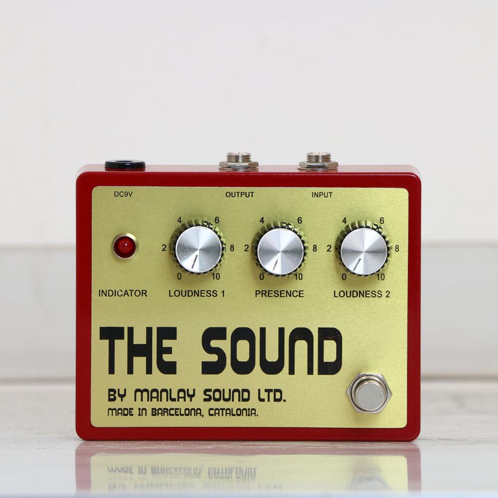 Manlay Sound The Sound 《エフェクター/オーバードライブ》【送料無料】【ONLINE STORE】