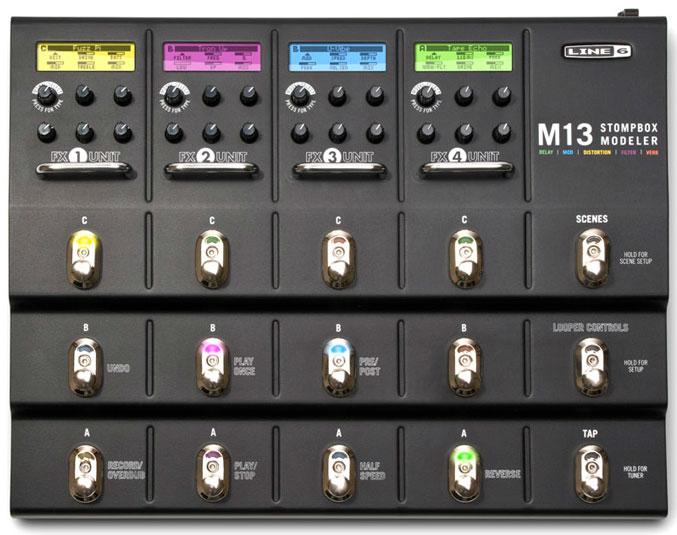 LINE6 M13 Stompbox Modeler [SM13] 《マルチエフェクター》【送料無料】【ONLINE STORE】