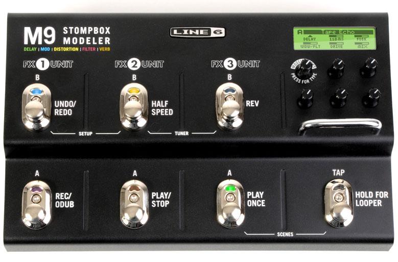 LINE6 M9 Stompbox Modeler [SM9] 《マルチエフェクター》【送料無料】【ONLINE STORE】
