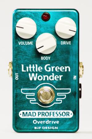 Mad Professor Little Green Wonder 《エフェクター/オーバードライブ》【18V電源アダプター付】【送料無料】【ONLINE STORE】