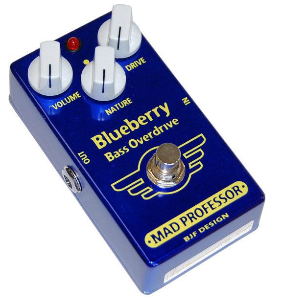Mad Professor New Blueberry Bass Overdrive 《エフェクター/ベース用オーバードライブ》【送料無料】【ONLINE STORE】