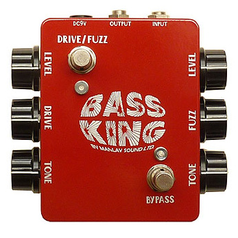 Manlay Sound Bass King 《ベース用エフェクター/ファズ/オーバードライブ》【ONLINE STORE】