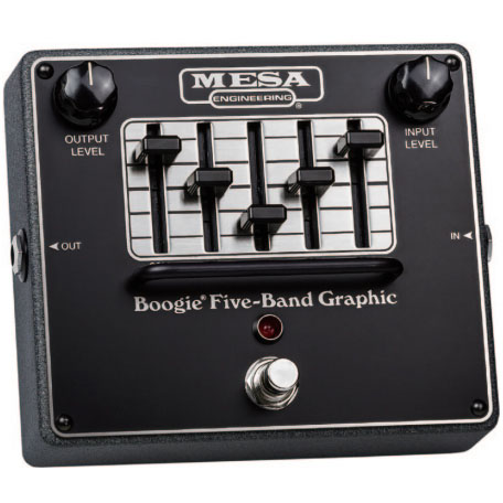 Mesa Boogie Boogie FIVE-BAND GRAPHIC 《エフェクター/ イコライザー》【送料無料】【ONLINE STORE】