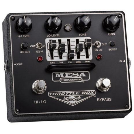 Mesa Boogie THROTTLE BOX EQ 《エフェクター/ ディストーション》【送料無料】【ONLINE STORE】