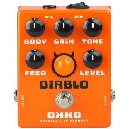 OKKO Diablo 《エフェクター/オーバードライブ》【送料無料】【ONLINE STORE】