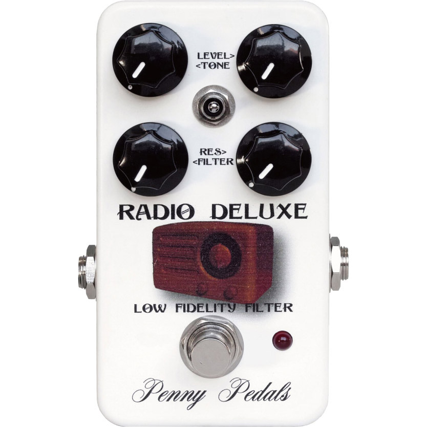 Filter Penny Pedals Radio Deluxe STORE】 Lo-Fi 《エフェクター/ローファイフィルター》【送料無料】【納期未定・ご予約受付中】【ONLINE
