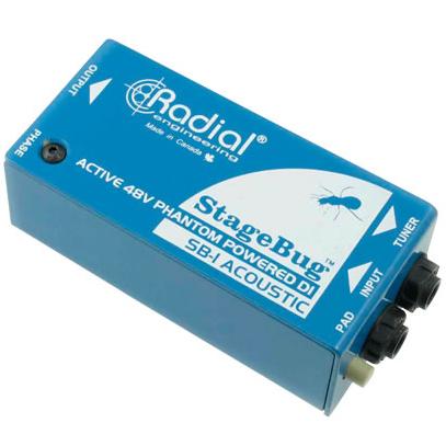 Radial SB-1 Acoustic 《エレアコ用DIボックス》【送料無料】【ONLINE STORE】