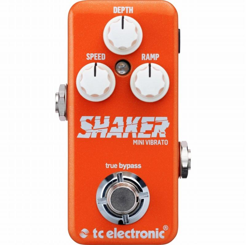 TC ELECTRONIC Shaker Mini Vibrato (エフェクター/ヴィブラート)(TonePrint対応)【送料無料】【G-CLUB渋谷】