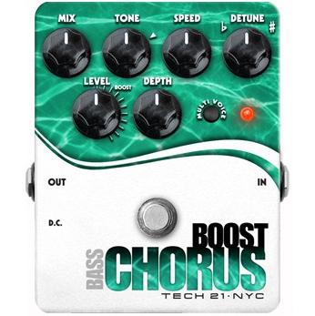 TECH21 SansAmp Bass Boost Chorus 《ベース用エフェクター/コーラス》【送料無料】【ONLINE STORE】