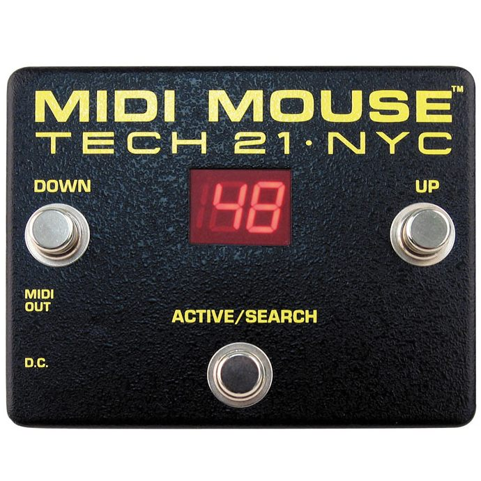 TECH21 SansAmp MIDI MOUSE 《MIDIプログラムチェンジペダル》【送料無料】【ONLINE STORE】