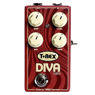 T-REX DIVA DRIVE 《エフェクター/オーバードライブ》【送料無料】【ONLINE STORE】
