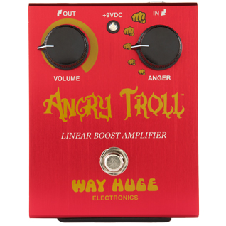 Way Huge Electronics Angry Troll Linear Boost 〔WHE101〕《エフェクター/ブースター》【送料無料】【ONLINE STORE】
