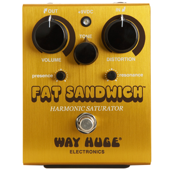 Way Huge Electronics Fat Sandwich Distortion 〔WHE301〕《エフェクター/ディストーション》【送料無料】【ONLINE STORE】