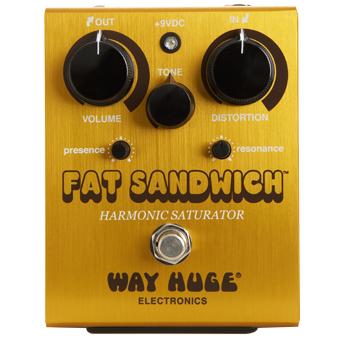 Way Huge Electronics Fat Sandwich Distortion 〔WHE301〕《エフェクター/ディストーション》【送料無料】【ONLINE STORE】