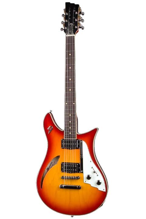 Cat STORE】 12-Strings(Fire Duesenberg Double Burst)《12弦ギター》【送料無料】【受注生産品】【ONLINE
