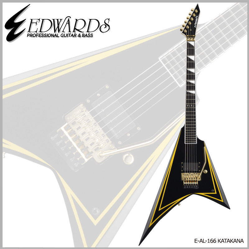 Edwards Signature Series Alexi Laiho Model E-KATAKANA【送料無料】【ONLINE STORE】