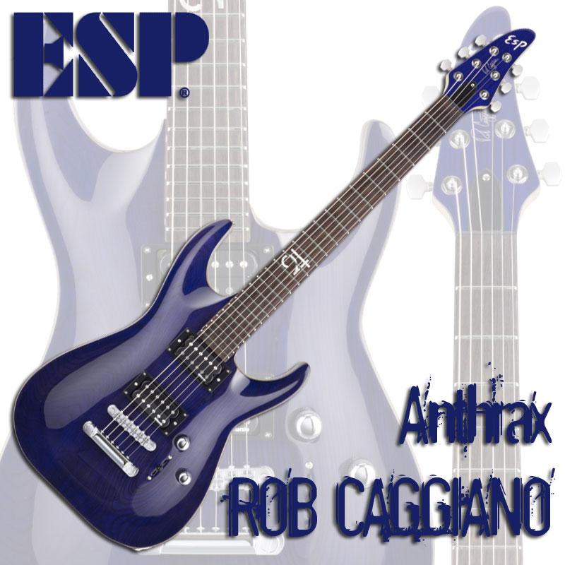 Thru Purple)【受注生産品】【送料無料】【smtb-u】【ONLINE ESP ROB CAGGIANO(See STORE】 Signature Series