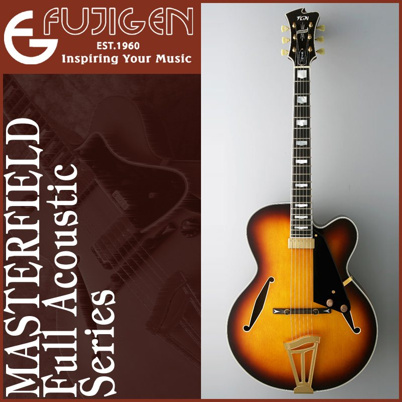Fujigen(フジゲン) FULL ACOUSTIC MASTERFIELD Series / MFA-FP/JB【送料無料】【ONLINE STORE】