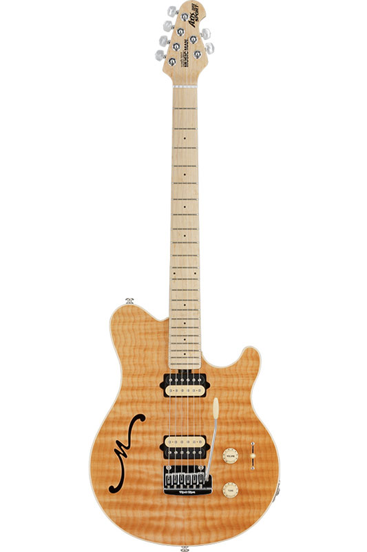 MUSICMAN Axis Super Sport Semi-Hollow Body HH trem Maple Fingerboard (Natural)【送料無料】【受注生産品】【ONLINE STORE】