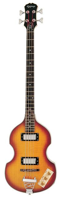 Epiphone Viola Bass (Vintage Sunburst)[EBVIVSCH1]【送料無料】(ご予約受付中)【ONLINE STORE】