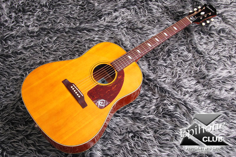 Epiphone Inspired by 1964 Texan (Antique Natural)[EETXANNH1]【送料無料】【ONLINE STORE】