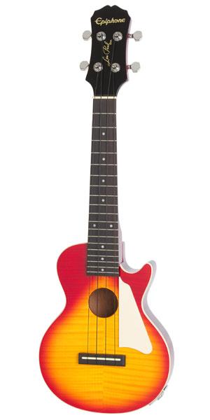 Epiphone Les Paul Acoustic/Electric Concert Ukulele (Heritage Cherry Sunburst)