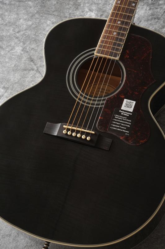 Epiphone EJ-200 Artist (Trans Black/Flame Maple Top)[EAEATBNH3]《アコースティックギター》【送料無料】【次回入荷分ご予約受付中】【ONLINE STORE】