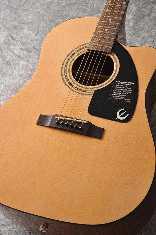Epiphone AJ-100CE (Natural)[EE1CNACH1]【送料無料】【ONLINE STORE】