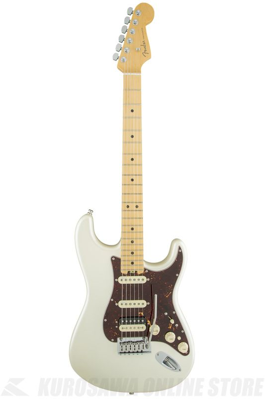 Fender American Elite Stratocaster HSS Shawbucker, Maple Fingerboard, Olympic Pearl《エレキギター》【ONLINE STORE】