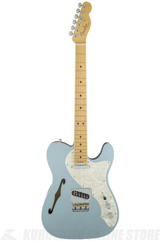 Fender American Eilte Telecaster Thinline, Maple Fingerboard, Mystic Ice Blue《エレキギター》【ONLINE STORE】