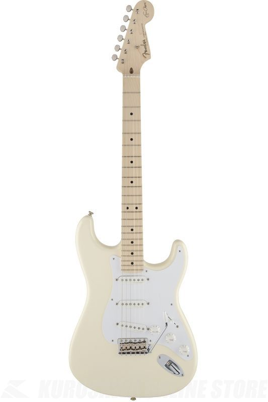 Fender Artist Series / Eric Clapton Stratocaster, Maple Fingerboard, Olympic White《エレキギター》【ONLINE STORE】
