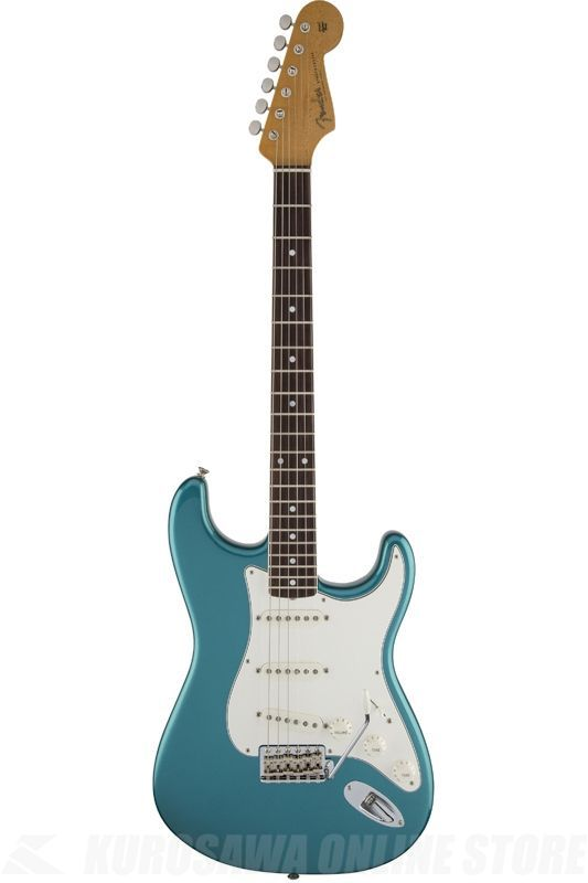 Fender Artist Series / Eric Johnson Stratocaster, Rosewood Fingerboard, Lucerne Aqua Firemist《エレキギター》【ONLINE STORE】