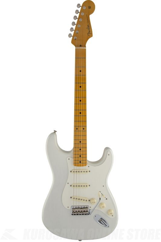 Fender Artist Series / Eric Johnson Stratocaster, Maple Fingerboard, White Blonde《エレキギター》【ONLINE STORE】