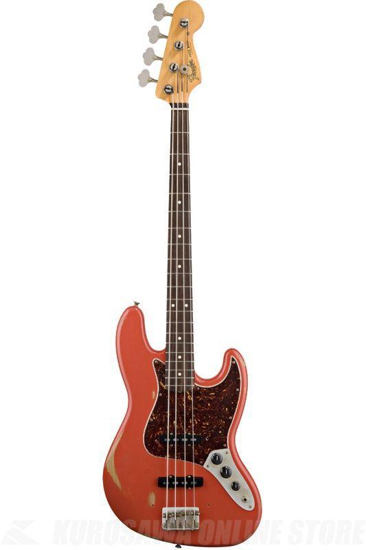Fender Classic Series / Road Worn '60s Jazz Bass, Pau Ferro Fingerboard, Fiesta Red/0131813340 【ONLINE STORE】