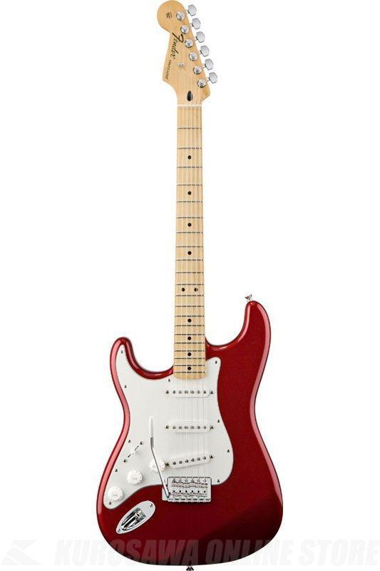 Fender Standard Series / Standard Stratocaster Left-Handed, Maple Fingerboard, Candy Apple Red《エレキギター》【ご予約受付中】【ONLINE STORE】