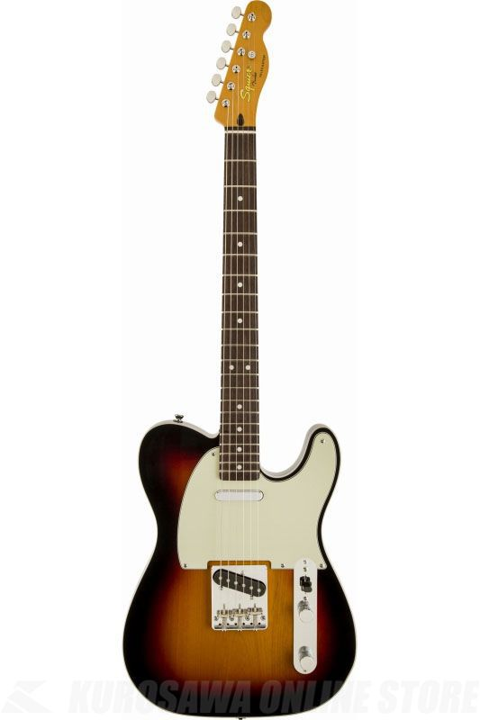 SQUIER Classic Vibe Telecaster Custom, Rosewood Fingerboard, 3-Color Sunburst《エレキギター》【ご予約受付中】【ONLINE STORE】