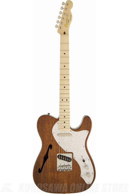 SQUIER Classic Vibe Telecaster Thinline, Maple Fingerboard, Natural《エレキギター》【ご予約受付中】【ONLINE STORE】
