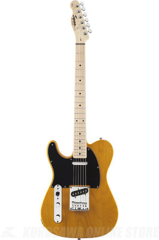 SQUIER Affinity Series Telecaster Left-Handed, Maple Fingerboard, Butterscotch Blonde《エレキギター》(ご予約受付中)【ONLINE STORE】