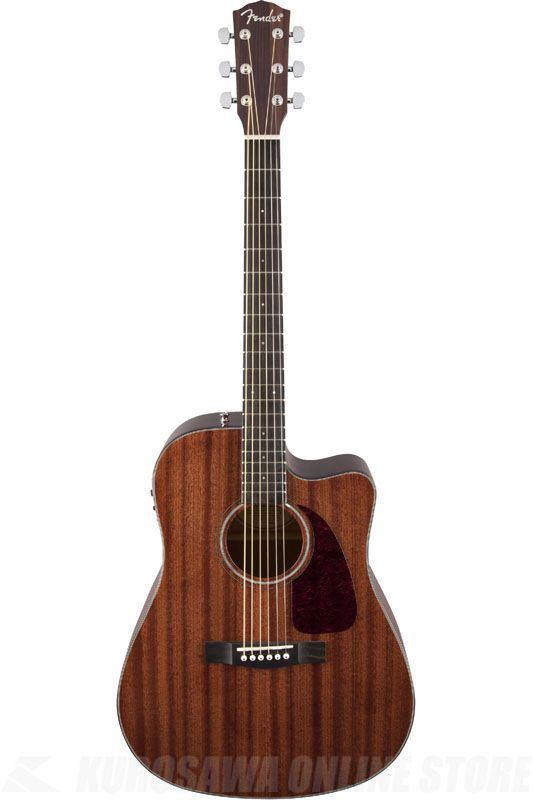 Fender Acoustic / CD-140SCE, All Mahogany, Natural 《アコースティックギター》
