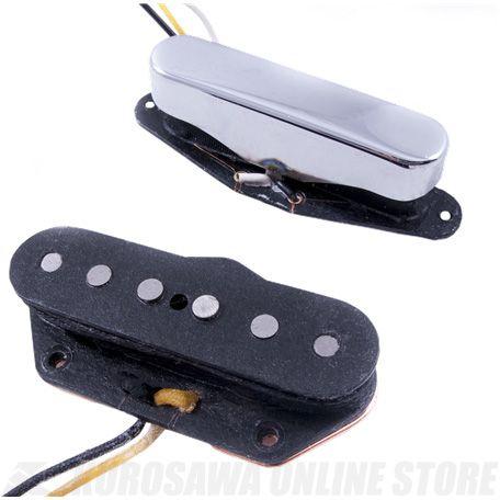 Fender Twisted Tele Pickups, Black/Chrome《ピックアップ/テレキャスター用》【ONLINE STORE】