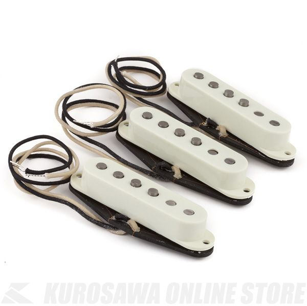 Fender Pure Vintage '59 Strat Pickup Set, Vintage White《ピックアップ/ストラトキャスター用》【ONLINE STORE】
