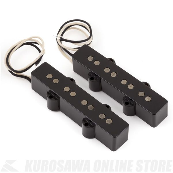 Fender Pure Vintage '74 Jazz Bass Pickup Set, Black《ピックアップ/ジャズベース用》【ONLINE STORE】