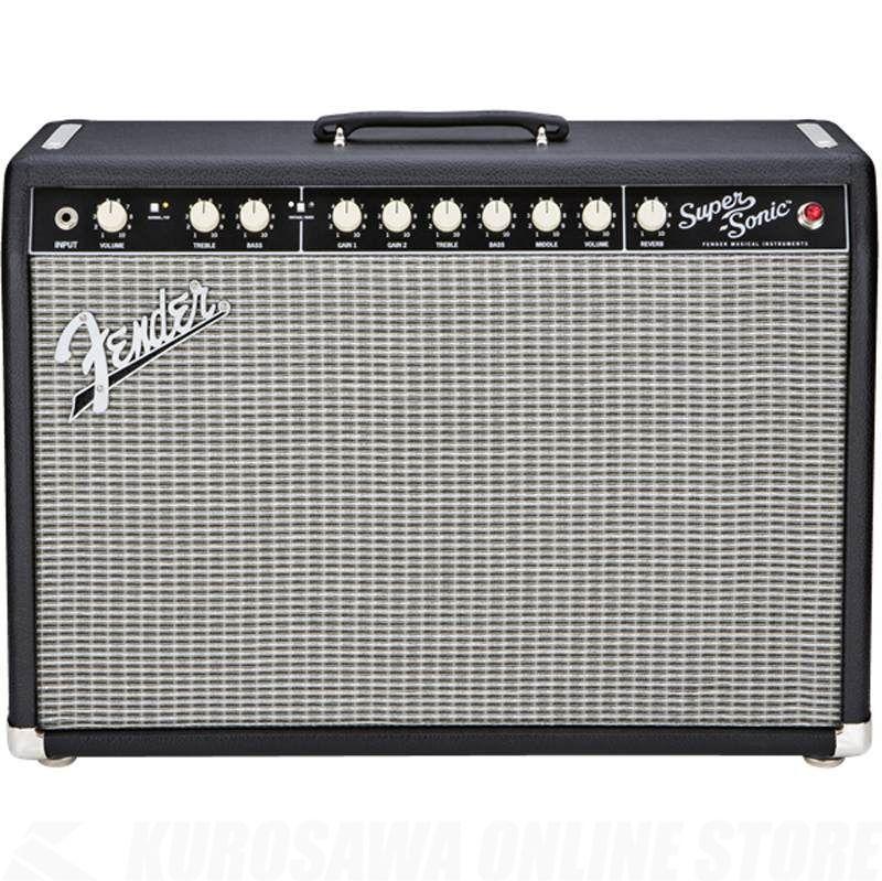 Fender Amplifier Super-Sonic Series / Super-Sonic 22 Combo, Black, 100V JPN《アンプ/ギターアンプ》【ご予約受付中】【ONLINE STORE】