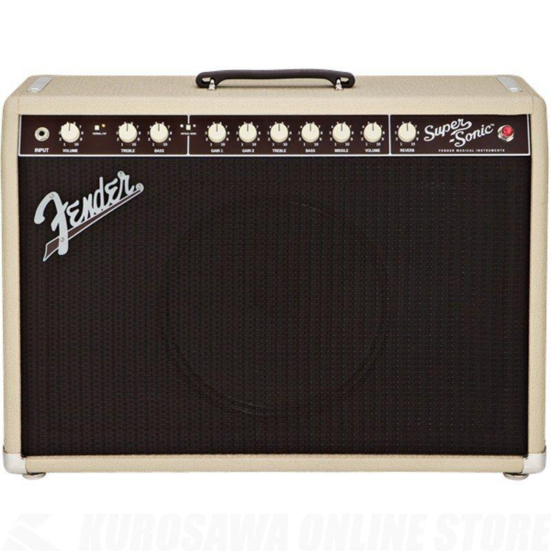 Fender Amplifier Super-Sonic Series / Super-Sonic 22 Combo, Blonde, 100V JPN《アンプ/ギターアンプ》【ご予約受付中】【ONLINE STORE】