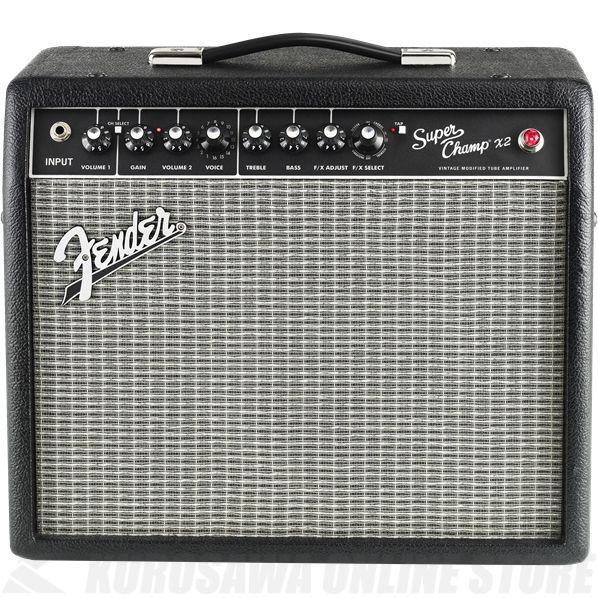 Fender Amplifier Super-Champ X2 100V JPN 《アンプ/ギターアンプ》【ご予約受付中】【ONLINE STORE】