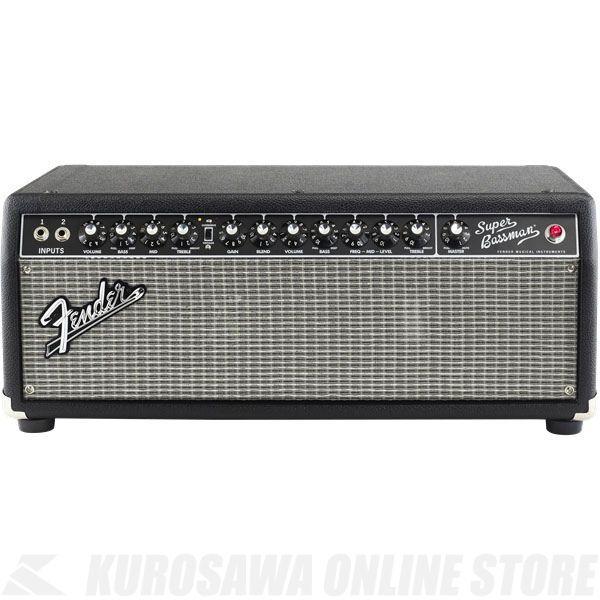 Fender Super Bassman, 100V JPN, Black《ベース》【ONLINE STORE】
